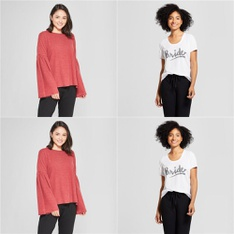 100 Pcs - Underwear, Intimates, Sleepwear & Socks - New - Retail Ready - Xhilaration, Love and Cherish, Gilligan & O'Malley