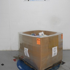 Clearance! Pallet - 1621 Pcs - Giftwrap & Supplies, Decorations & Favors, Stationery & Invitations, Costumes - Customer Returns - spritz, Lion Brand, Bullseye's playground, Toysmith