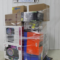 3 Pallets - 71 Pcs - Portable Speakers, Speakers, Security & Surveillance, Drones & Quadcopters Vehicles - Tested NOT WORKING - Ion, Monster, ION Audio, Protocol