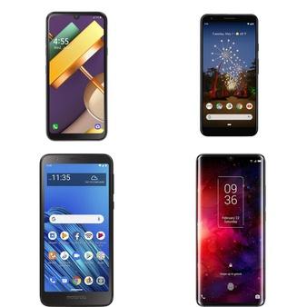 CLEARANCE! 17 Pcs – Cellular Phones – Refurbished (GRADE A, GRADE B, GRADE C – Not Activated) – LG, Motorola, TCL, Google