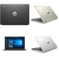 12 Pcs – Laptops – Refurbished (GRADE B, GRADE C) – HP, DELL, Samsung