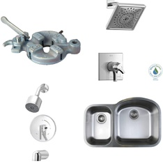 75 Pcs - Home Improvement - Like New, New Damaged Box, Used, Open Box Like New - Retail Ready - Kohler, Delta Faucet, Delta, Bosch