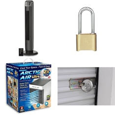 3 Pallets - 357 Pcs - Home Security & Safety, Hardware, Fans, Hand Tools - Customer Returns - Brinks, Brink's, As Seen On TV, Mainstay's