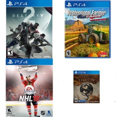 48 Pcs – Sony Video Games – New, Used, Like New – Destiny 2 Standard Edition (PS4), NHL 16 (PS4), ADIB075CQN8F5, The Elder Scrolls Online: Elsweyr (PS4)