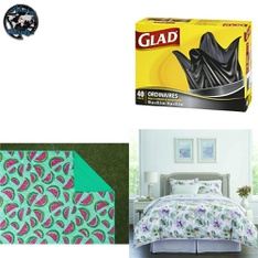 Pallet - 86 Pcs - Kitchen & Dining, Bath, Comforters & Duvets, Sheets, Pillowcases & Bed Skirts - Customer Returns - Mainstays, HomeTrends, INGBAGS, Mainstay's