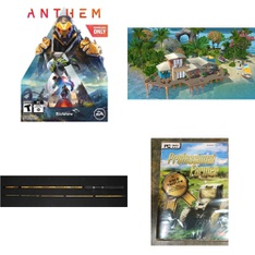 Pallet – 112 Pcs – Games, Fishing & Wildlife, Software – Customer Returns – Electronic Arts, Outdoor Angler, Avanquest, EastPoint Sports