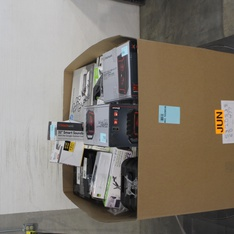 Pallet - 118 Pcs - Receivers, CD Players, Turntables, Other, Cordless / Corded Phones, Accessories - Customer Returns - Onn, Blackweb, VTECH, NEXTBOOK