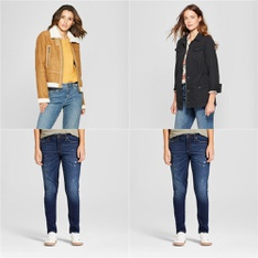 250 Pcs - Jeans, Pants, Legging & Shorts, Swimwear, Jackets & Outerwear - New, Like New - Retail Ready - Universal Thread, A New Day, Gilligan & O'Malley, Shade & Shore