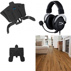 3 Pallets - 242 Pcs - Cables & Adapters, Audio Headsets, Hardware, Camping & Hiking - Customer Returns - Collective Minds, HyperX, Select Surfaces, Mainstay's