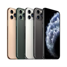 5 Pcs – Apple iPhone 11 Pro 64GB – Unlocked – Certified Refurbished (GRADE A)