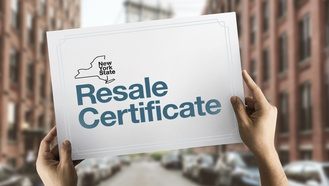 New York State Resale Certificates: Obtaining Exemption from Sales Taxes