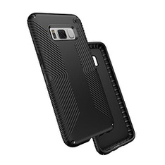 27 Pcs - Speck 902521050 Presidio Grip Case for Samsung Galaxy S8, Black/Black - New, Used, Like New, Open Box Like New - Retail Ready
