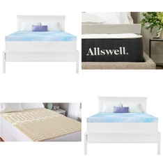 Pallet - 21 Pcs - Covers, Mattress Pads & Toppers, Kids, Camping & Hiking - Customer Returns - Mainstay's, Dream Serenity, Allswell