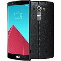 19 Pcs - LG G4, Black Leather, 32GB - Refurbished (BRAND NEW)
