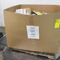 Pallet - 853 Pcs - Hardware, Tool Accessories, Power Tools, Hand Tools - Customer Returns - LEVITON, Everflow Supplies, Aqua Plumb, Wooster Brush