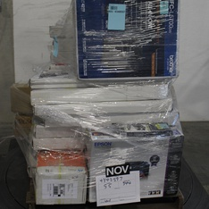 Pallet - 22 Pcs - Lamps, Parts & Accessories, Office Supplies - Customer Returns - RCA, Brother Printer, EPSON