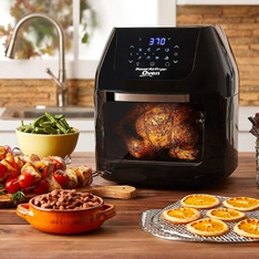 Pallet - 134 Pcs - Power AirFryer XL 6 QT Power Air Fryer Oven With 7 in 1 Cooking Features - Like New - Retail Ready