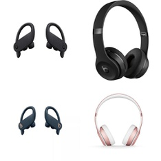 11 Pcs – Apple Beats Headphones – Refurbished (GRADE D, No Packaging) – Models: MV6Y2LL/A, 129438-00, MHBH2AM/A, ML8W2LL/A