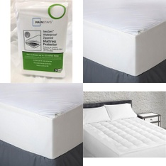 Pallet – 37 Pcs – Covers, Mattress Pads & Toppers, Comforters & Duvets – Customer Returns – Mainstays, Aller-Ease, Mainstay's, Better Homes & Gardens