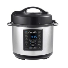 Pallet – 8 Pcs – Sunbeam Products SCCPPC600-V1 Crock-Pot Express Crock Multi-Cooker Stainless Steel – Like New – Retail Ready