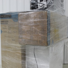 Pallet – 6 Pcs – Freezers, Refrigerators – Customer Returns – Thomson, Frigidaire