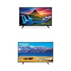 5 Pcs – LED/LCD TVs – Refurbished (GRADE C) – VIZIO, Samsung