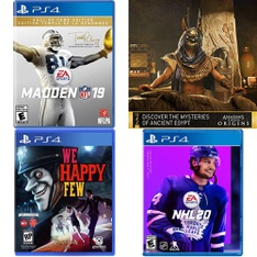 35 Pcs – Nintendo Video Games – Open Box Like New, New, Like New – Madden NFL 19 Hall of Fame Edition (PS4), We Happy Few Deluxe Edition (PS4), Assassins Creed Origins Standard Edition (PlayStation 4), Marvel's Spider-Man (PS4)