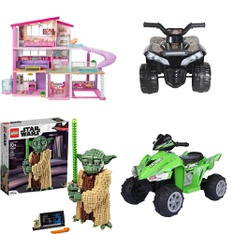 Pallet – 14 Pcs – Vehicles, Vehicles, Trains & RC – Customer Returns – Lego, Huffy, Mattel