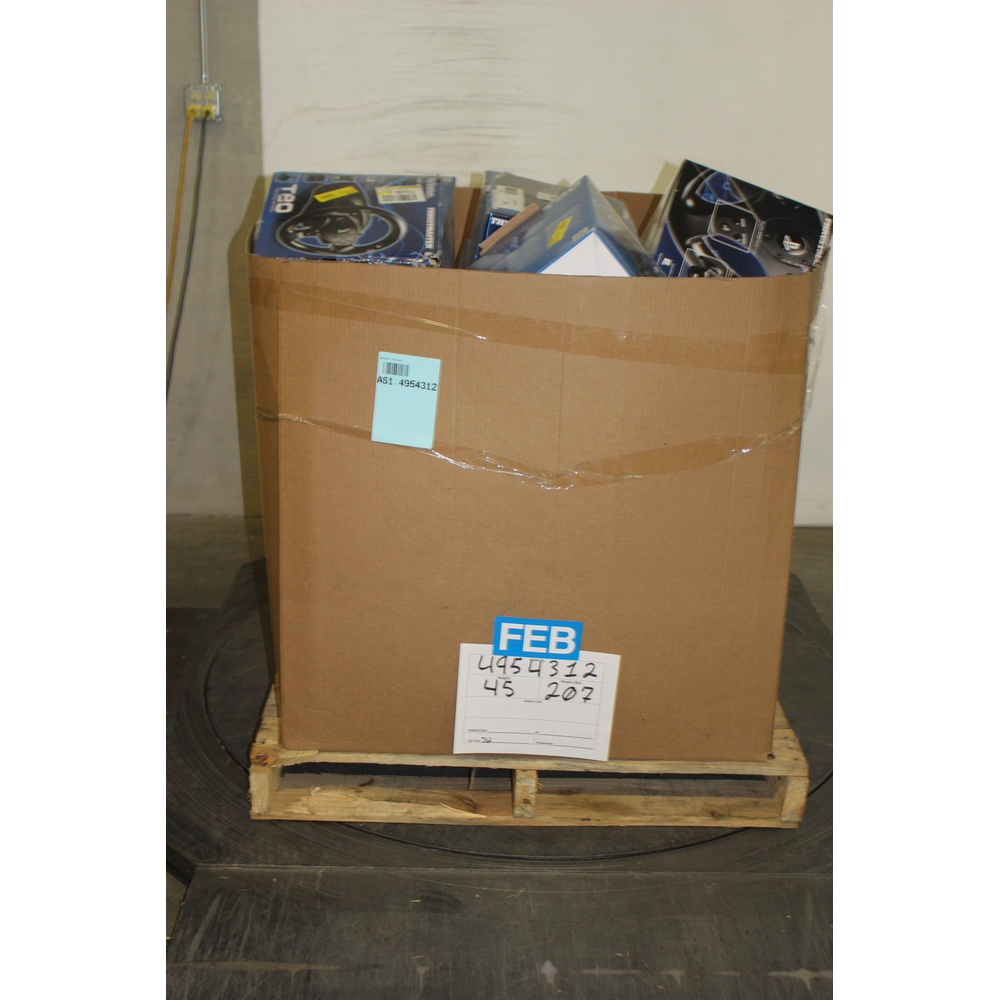 Pallet - 97 Pcs - Nintendo, Cables & Adapters - Customer Returns - PowerA,  Collective Minds, ThrustMaster