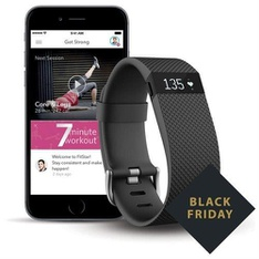 10 Pcs - Fitbit 795107 Charge HR + FitStar Personal Training Bundle - Small - Refurbished (GRADE A)