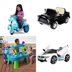 Pallet – 8 Pcs – Vehicles – Customer Returns – Step 2, Kid Trax, L.O.L. Surprise!, RollPlay