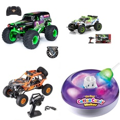 3 Pallets - 69 Pcs - Vehicles, Trains & RC, Vehicles, Powered - Customer Returns - New Bright, Adventure Force, Huffy, Paw Patrol