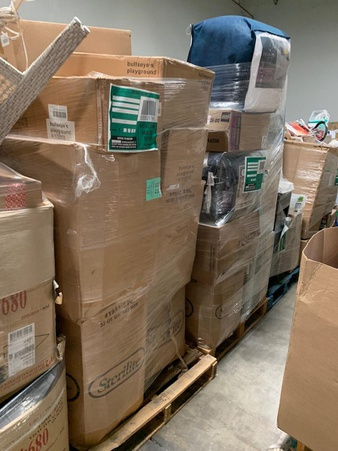 Truckload – 28 Pallets – General Merchandise (Target) – Customer Returns