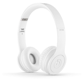 12 Pcs Beats By Dr Dre Solo Hd Drenched In White Wired On Ear Headphones Mh9e2am A Refurbished Grade A Original Box