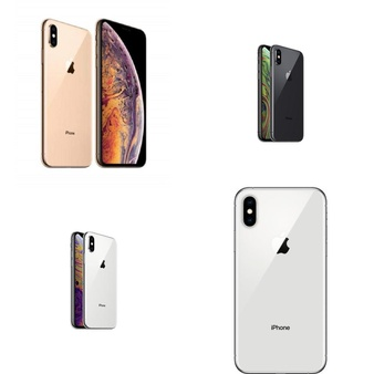 10 Pcs – Apple iPhone Xs – Refurbished (GRADE A – Unlocked) – Models: MT992LL/A, MT8U2LL/A, MT8Y2LL/A, MT982LL/A
