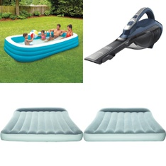 Pallet - 311 Pcs - Kitchen & Dining, Camping & Hiking, Pools & Water Fun, Vehicles, Trains & RC - Customer Returns - Bestway, BLACK & DECKER, Play Day, Mainstays