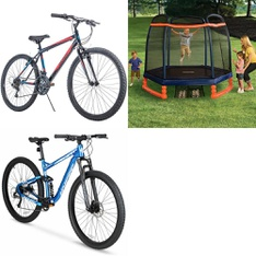 Pallet – 4 Pcs – Cycling & Bicycles – Customer Returns – Movelo, Hyper Bicycles, Little Tikes