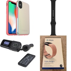 100 Pcs - Electronics & Accessories - New - Retail Ready - Heyday, PopSockets, FitBit, Speck