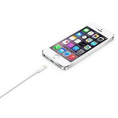 27 Pcs – Apple MD819AM/A OEM Lightning to USB Cable (2.0 m) for iPhone – Customer Returns