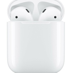 5 Pcs - Apple AirPods Generation 2 with Charging Case MV7N2AM/A - Refurbished (GRADE A, GRADE B)