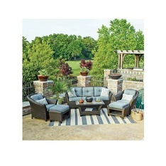 Pallet – Member's Mark SBGL01000-6A Agio Toronto 6-Piece Patio Deep Seating Set with Sunbrella Fabric – Customer Returns