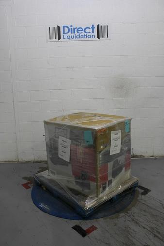 Half Truckload – 13 Pallets – 762 Pcs – Hardware, Heaters, Kitchen & Dining, Lighting & Light Fixtures – Customer Returns – Mainstay's, Honeywell, Brinks, Hyper Tough
