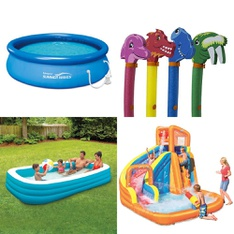 Pallet - 15 Pcs - Pools & Water Fun - Customer Returns - PolyGroup, Play Day