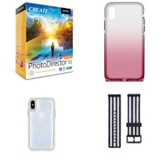 150 Pcs - Electronics & Accessories - New - Retail Ready - Philips, FitBit, Heyday, Encore