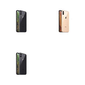 5 Pcs – Apple iPhone Xs – Refurbished (GRADE B – Unlocked) – Models: MT8X2LL/A, MT8U2LL/A, MT8W2LL/A