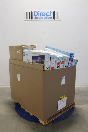 Pallet – 29 Pcs – Monitors, Networking – Tested NOT WORKING – HP, Onn, Samsung, Dell Marketing USA, LP