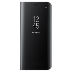 28 Pcs - Samsung EF-ZG950CBEGUS Galaxy S8 S-View Flip Cover with Kickstand, Black - New - Retail Ready