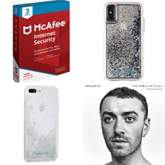 150 Pcs - Electronics & Accessories - New - Retail Ready - CASE-MATE, Heyday, McAfee, Capitol