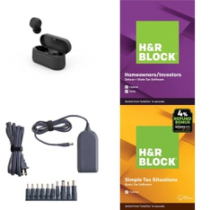 3 Pallets – 1269 Pcs – Other, Over Ear Headphones, Software, Power Adapters & Chargers – Customer Returns – Onn, onn., H&R Block, Anker