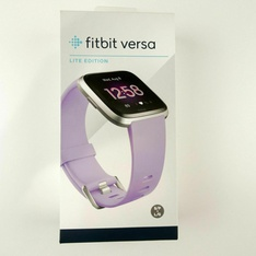 34 Pcs – Fitbit FB415SRLV Versa Lite Edition SmartWatch with Small & Large Band, Lilac – Refurbished (GRADE A, GRADE B)